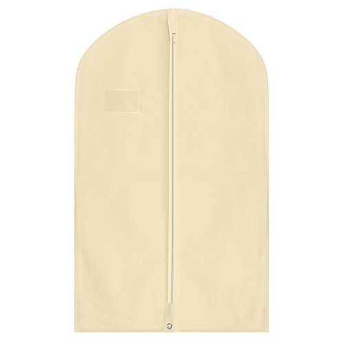 hoesh International creme Wasserdicht Anzug deckt 101,6cm (100cm), gratis Druck im lieferumfang enthalten., cremefarben, 24 x 40 inches, Packs of 5