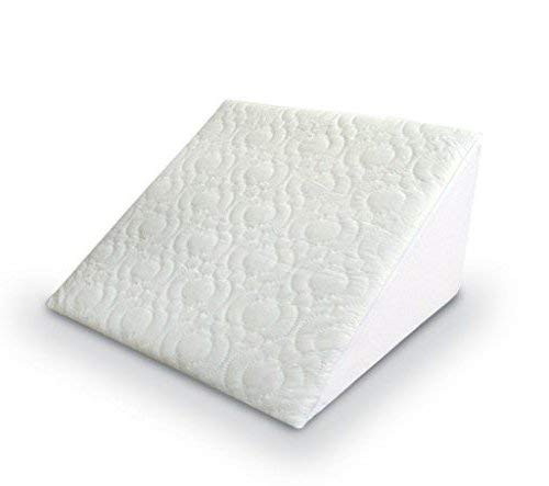 Wedge Pillow Orthopaedic Acid Reflux Back Bed Support with Cover Washable