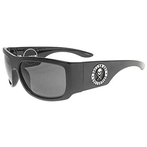Sullen Clothing & Black Flys – Gafas de sol – Fly High Polar Brillo