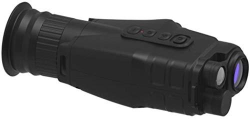 PJPPJH Monocular 1x-24x de Mano al Aire Libre NV monocular 1080P HD WiFi cámara grabadora telescopio con 400 m de Distancia de visualización