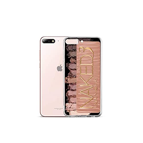 Moda Glam Maquillaje paleta teléfono caso transparente para el iPhone para Samsung A S 11 12 6 7 8 9 10 20 Pro X XS Max XR Plus lite-a5-iphone 8 plus