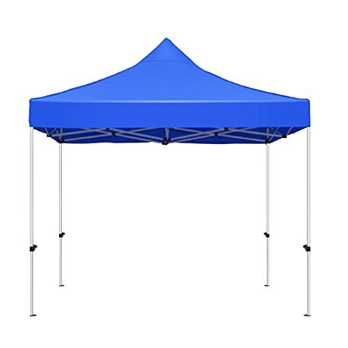 Cenadores Para Refugios De Sombra Al Aire Libre, Azul Rojo 2m * 2m Comercial Tienda Instantánea Pulga Marisco Tiendas Impermeables Oxford Paño Marco De Metal Pesado(Size:2m*2m,Color:azul)