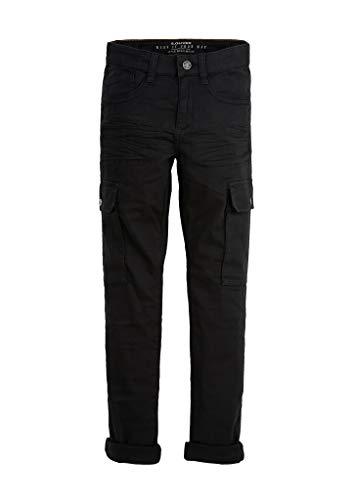s.Oliver RED Label Jungen Slim Fit: Skinny Leg-Cargohose Black 164.REG