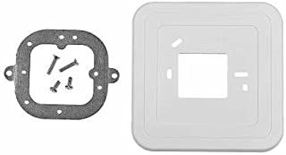 Honeywell Wallplate for and Bracket Thermostat - Straight on - 50005625-001/U 50005625-001-1