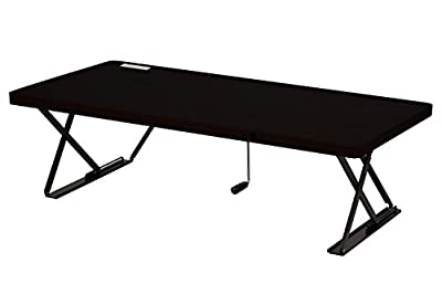 Halter Manual Adjustable Height Table Top Sit/Stand Desk …