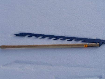ICE SAW - Cut Spearing and ice Fishing Holes In The Ice With Ease