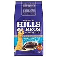 日本ヒルスコーヒー ヒルス ヨーロピアンブレンド(粉) 420g袋×12(6×2)袋入×(2ケース)