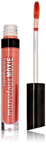bareMinerals Marvelous Moxie Lipgloss Birthday Babe for Women, 0.15 Ounce
