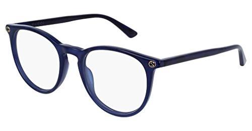 Gucci Brillengestelle GG00270-5-50 Rund Brillengestelle 50, Blau