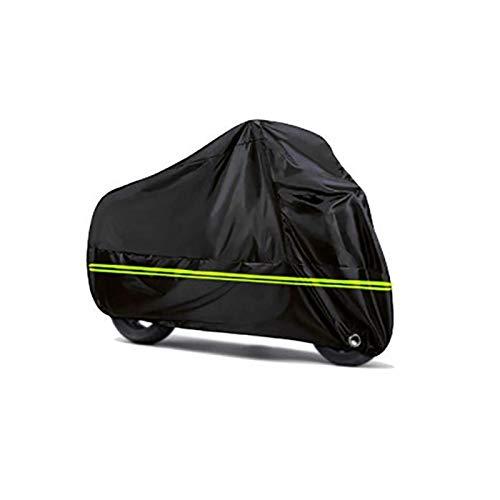 Cubierta de Motocicleta Cubierta de Lluvia de Nieve Protectora Impermeable a Prueba de Polvo Universal para Moto Scooter Bicicleta Interior al Aire Libre (Size : L)