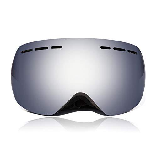 N\A Gafas para deportes al aire libre UV400 de seguridad al aire libre con doble capa resistente al viento, antivaho esférica, protector de ojos (color: 2)