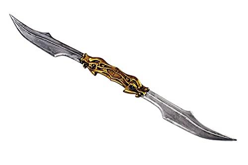 MIMIKRY Ninja doble espada Dragon BO Staff arma de varilla, arma para artes marciales, karate, kung fu cosplay