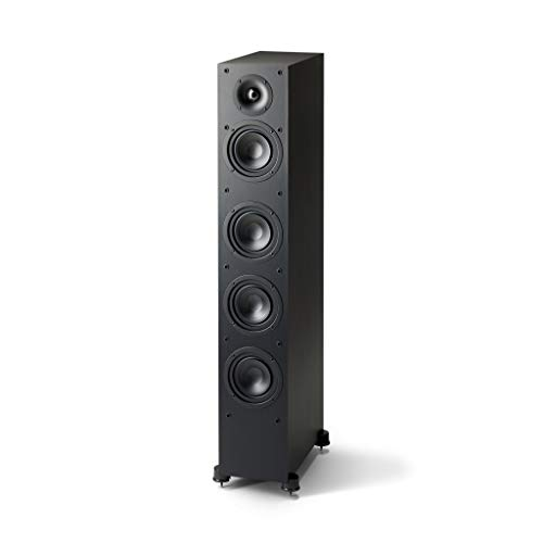 Paradigm Monitor SE 6000F Floorstanding/Tower Speaker (Matte Black)