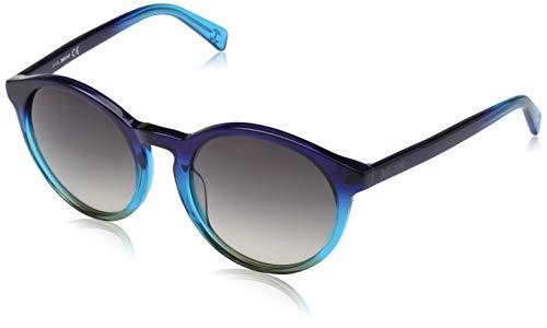 Just Cavalli Sonnenbrille JC672S 92B 52 Gafas de sol, Azul (Blau), 52.0 Unisex Adulto