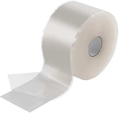 Poppstar 11m selbstverschweißendes Silikonband, Silikon Tape Reparaturband, Isolierband und Dichtungsband (Wasser, Luft), 50mm breit, transparent