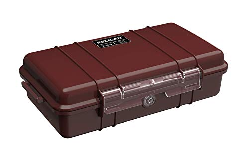 Pelican 1060 Micro Case - for iPhone, GoPro, Camera, and More (Oxblood)