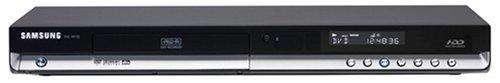 Samsung DVD HR 733 / XEG - Grabador de DVD y Disco Duro (80 GB), Color Negro