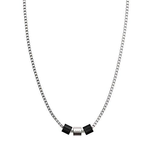 Emporio Armani Herren - Halskette Edelstahl