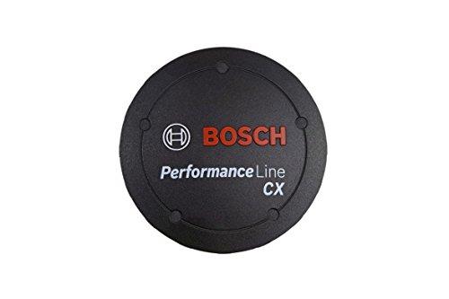 Bosch Logo-Deckel Performance CX Cubierta:, Unisex Adulto, Negro, Talla única