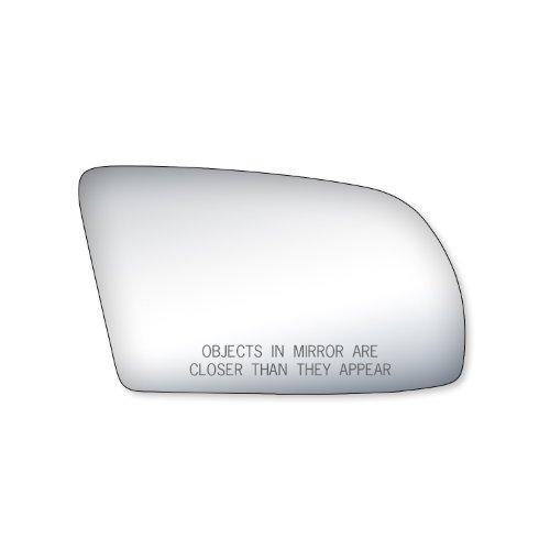 Fit System Passenger Side Mirror Glass, Nissan Altima Coupe, Nissan Altima Hybrid, Nissan Altima Sedan, (Foldaway)