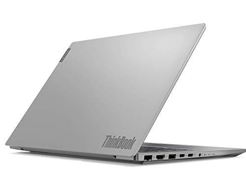 Lenovo ThinkBook 14 Intel Core i3 10th Gen 14-inch Full HD Thin and Light Laptop (4GB RAM/ 1TB HDD/ Windows 10 Pro/ Mineral Gray/ 1.49 kg), 20SL005TIH