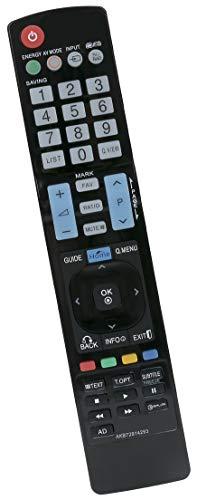 ALLIMITY AKB72914293 Fernbedienung Ersetzen für LG Plasma TV AKB72915207 AKB72915244 AKB72914202 AKB72915246 AKB73275606 AKB72915217