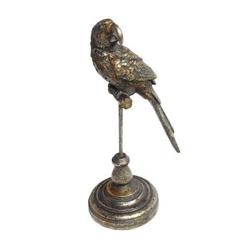 Escultura Parrots Silver P