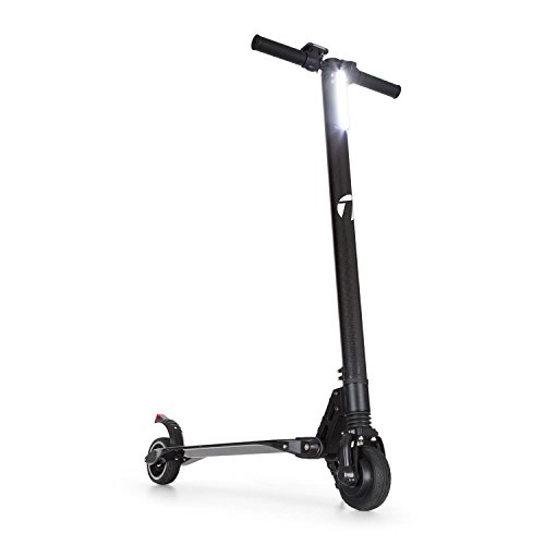 TAKIRA Racing Sc8ter e-scooter met elektromotor - elektrische step, tot 28 km bereik, 250 watt motorvermogen, 22 km/u topsnelheid, 2 remmen, snellader, zwart