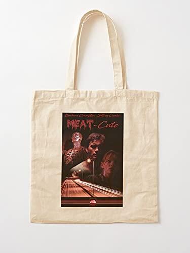 Movie Horror Fake 80S 1980S VHS | Einkaufstaschen aus Leinen mit Griffen, Einkaufstaschen aus robuster Baumwolle