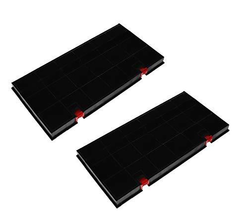 2x Aktivkohlefilter Filter Dunstabzugshaube für AEG Electrolux 50290644009 Elica 150 Bosch Siemens Neff 460450 Typ150