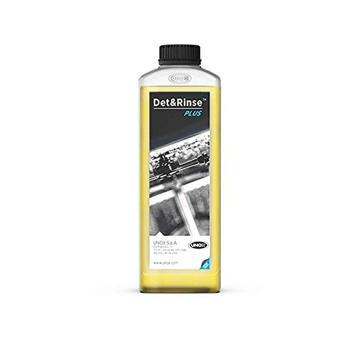 Detergente Det&Rinse per forno Unox Cheftop o Barkertop – Set di 10 (10 x 1 litro)