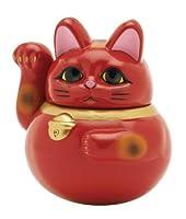 【あか】ふっくら福福招き猫