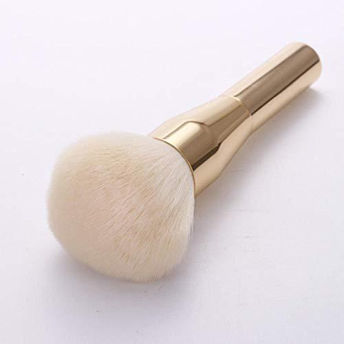 Fanxp® 1Pcs Poignée professionnelle + Fibres artificielles Brosse de poudre libre, Brosse de maquillage pour le fard à joues, Outils de maquillage professionnels de beauté