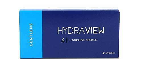 Gentlens HydraView Mensili 6p -5.00 - Lenti a contatto mensili morbide -