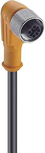 Lumberg Holding GmbH & Co. KG Belden Winkelkupplung M12 4p. Kab.PUR hfr RKWT 4-22510m - 10 m (18158)