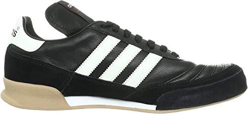 adidas Mundial Goal Herren Fußballschuhe, Schwarz (Black 1/running White/running White), 43 1/3 EU
