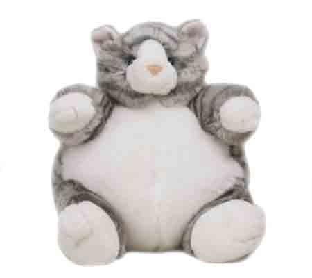 Unipak 9' Grey Tabby Cat Plumpee Plush