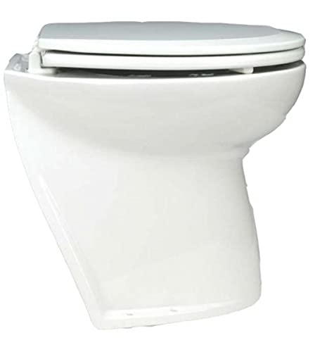 Photo of a white colored Jabsco Deluxe Flush 17