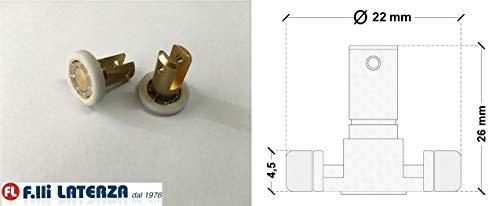 Reserveonderdelen wiellager rollen voor douchecabine onderdelen Cabina 22x4,5/26h