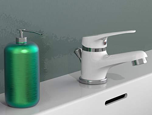 EISL NI075SCR-W - Grifo monomando de baño, 1pieza, color blanco