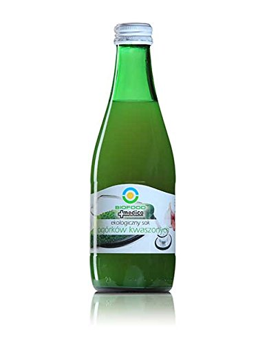 BIOFOOD BIO-SAURE GURKENSAFT, milchsauer vergoren, 300ml Glasflasche, wiederverschließbar