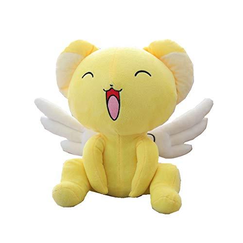 Magic Girl'S Pet, Knuffels Zachte Knuffels Met Leuke Vleugels, Action Movie Dolls, Cartoon Figuur Speelgoed Baby Kids Geschenken 30Cm (Glimlach)