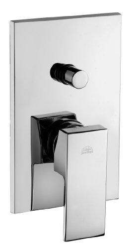 Miscelatore doccia incasso con deviatore ELLE Paffoni EL015 - 2 uscite - cromato