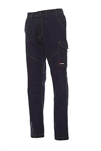 PAYPER deva store Pantaloni da Lavoro multistagione Cotone 100% Comodi e Resistenti (Blu Navy, 52/54)
