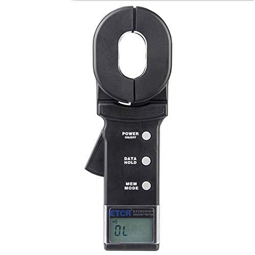 ZGQA-GQA Multímetro Multi-función de conexión a tierra resistencia del probador del medidor, medidor de pinza digital, con almacenamiento de datos de función del sistema de alarma, Corriente de fuga y