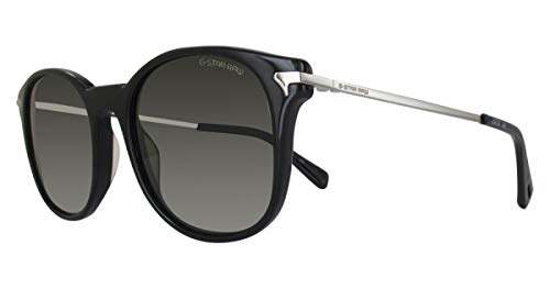 G-STAR RAW GS670S Combo Carnix Aviator Sonnenbrille 51, Schwarz