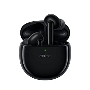 realme Buds Air Pro ANC TWS Earphones (Black) | Bluetooth v5.0 | 25-Hour Playback | Touch Controls | Bass Boost+ | Wear…