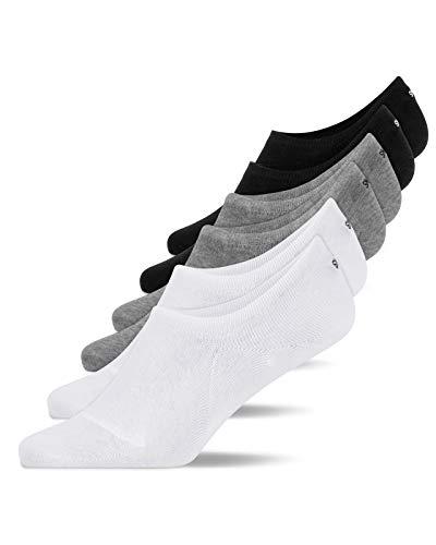 Snocks Sneaker Socken Damen Mix Größe 39-42 6x Paar Sneaker Socken Herren Damen Sneaker Socken Füßlinge Damen Sneakersocken Ballerina Socken Damen