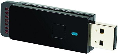 Netgear WNA3100-100PES - Adaptador de Red inalámbrico Mini USB WiFi con Base para Escritorio (N300, WPS)