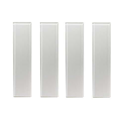 5 SQFT Genuine Glass Subway Tile for Kitchen Backsplash, Bath Tub Surroundings, Etc,